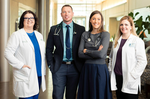 medical oncology team